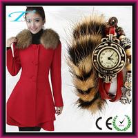 Leopard watch retro fashion vintage quartz watch,women wholesale watches cheap