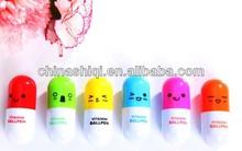 Promotional plastic capsule ball pen