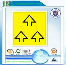 paper/pet/pp/opp durable self-adhesive warning label stickers manufacturer, guangzhou, china