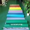 Indoor plastic floor covering/plastic wood floor