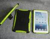 PC TPU Kickstand combo case for Ipad mini, 50pcs to start