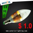 E14/E12 Led candle light 3w USD1.00