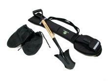 Ergonomic Garden moon shovel, size M, with carry Bag! NEW