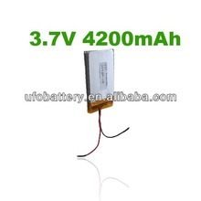 Baking Oven batteries Lithium Polymer Battery 4200mAh 3.7 volt Lithium ion Polymer Rechargeable Bateries