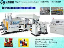 SUPER SUPPLIER milk filling paper hot melt glue coating machine