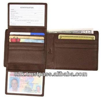 RFID blocking wallets & purses