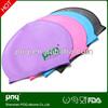 Wholesale Fashionable Adult Kid Sizes Customized Logo Printed Pattern Silicone Swim Cap