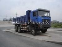 SHACMAN F2000 380hp all wheel drive tipper 6*6 dump truck