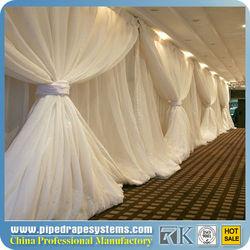 beautiful white wedding drape&curtains design