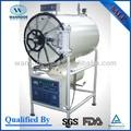Horizontal cilíndrica esterilizador de presión de vapor autoclave
