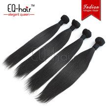 New design indian virgin hair straight style flip in hair extension