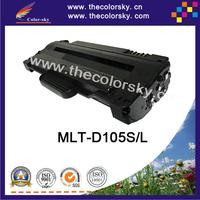 (CS-S105) bk compatible toner printer cartridge for samsung mlt-105s mlt-105 ml-1910 ml-1911 ml-2526 ml-2581n (2500 pages)