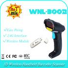 2.4G usb receiver 1D Laser wireless/cordless handheld bar code decoder barcode reader portable scanner