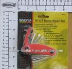 16 in 1 Cycling repair kit,bicycle repair set,bicycle repair tool
