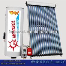 split vacuum tube solar water heater /pressurized solar collector
