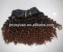 New Style !Two tone color human hair extension