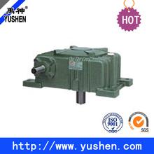 High heat-radiating efficiency WPX worm gear speed reducer