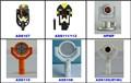 Instrumento de medición/estación total de accesorios: leica estilo prisma y otro accesorio