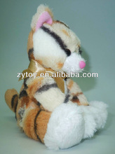 Stuffed animal toy make soft black cat plush stuffed toys