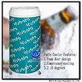 40l coca cola pode refrigerador forma