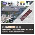 nuevo material de decoración de madera techo de tejas de acabados