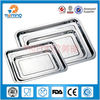multi size stainless steel rectangular dinner plate,square plate