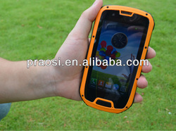"""MTK6589 Quad core 4.3"""" Android4.2 system 3G Waterproof Smartphone (PTT function optional)"""