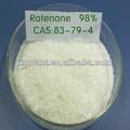 100% derris extrait naturel trifoliata rotenon 98% poudre insecticide bio