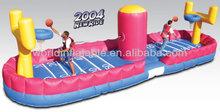 inflatable basketball backboard