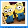 minion cartoon case for iphone 5