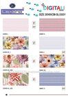 India factory price flower ceramic wall tile design