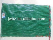 orange scallop mesh net plastic bag