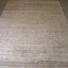 Himalayan Hemp & Silk Carpet Handmade in Nepal