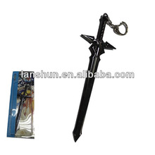 "Anime Sword Art Online S.A.O Key Ring/Chain Cosplay 14cm/5.5"" Sword"