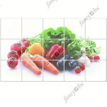 Anti oil sticker kitchen wall covering Garden Landscape Pattern