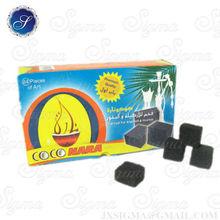 lump coconut coal for shisha smoke