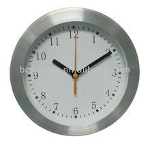 Small Aluminum 6 inch Wall Clock