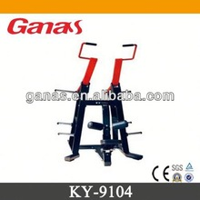 Casting iron & rubber cover specialized gym strength equipment KY-9104/lat pull down