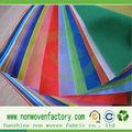 Polipropileno spunbonded não- tecido de material biodegradável