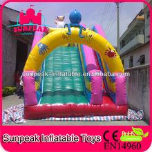 2013 New Design Octopus Inflatable Slide