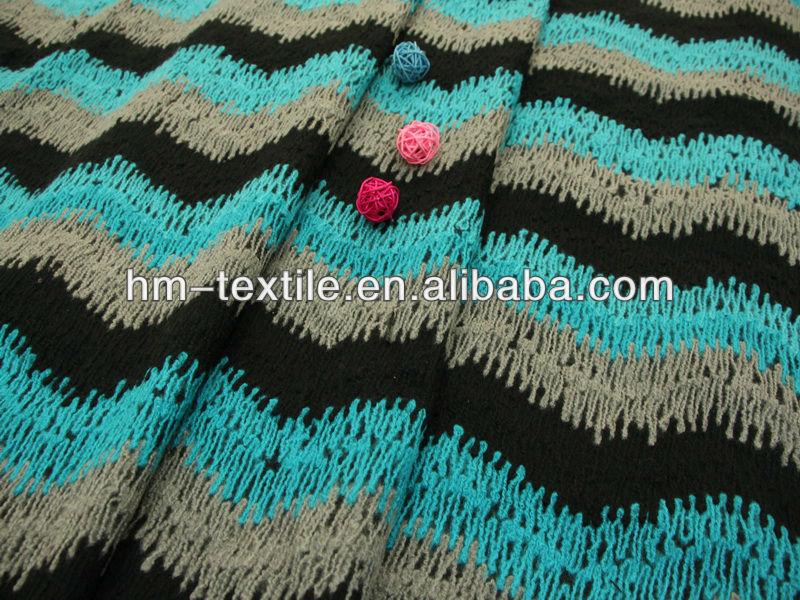 Zigzag Chenille Fabric