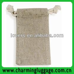 mini jute drawstring bags pattern free