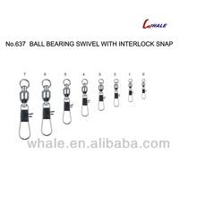 Ball Bearing Swivel With Interlock Snap