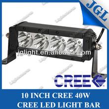 hot selling vw scirocco led light bar 40w 10 inch led visor