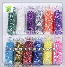 2014 Best Seller Laser pvc glitter powder for Christmas