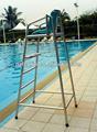 Luxo piscina e guarda a vida da cadeira, piscina acessório