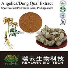 angelica/dong quai Extract ,1% Ferulic Acid, 1% Ligustides