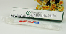 luxury hotel disposable amenities set toothbrush