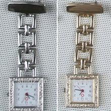 Quartz pin alloy diamond hanging nurse watch,watches ladies silicone