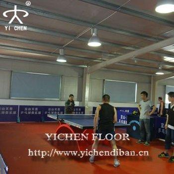 plastic floor covering roll/plastic floor protector table tennis court flooring